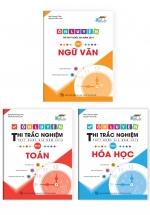 Combo Ôn Luyện Thi Trắc Nghiệm THPT Quốc Gia Năm 2019 Môn Ngữ Văn -  Toán - Hóa