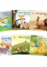 Bộ Truyện Tranh Đồng Thoại Song Ngữ Anh - Việt (Trọn Bộ 6 Cuốn)