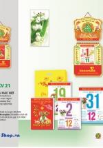 Bloc Lịch Xuân 2015 Sắc Hoa (14.5 x 20cm) + Bộ Lò Xo 1