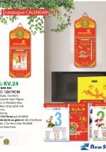 Bloc Lịch Xuân 2015 Hoa Ban Mai (12 x 19cm)  + Bộ Lò Xo 3
