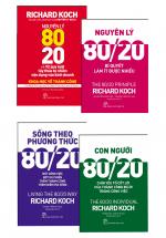 Combo Nguyên Lý 80/20 (4 Cuốn)