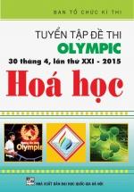 Tuyển Tập Đề Thi Olympic 30 Tháng 4 Lần Thứ XXI - 2015 Hóa Học