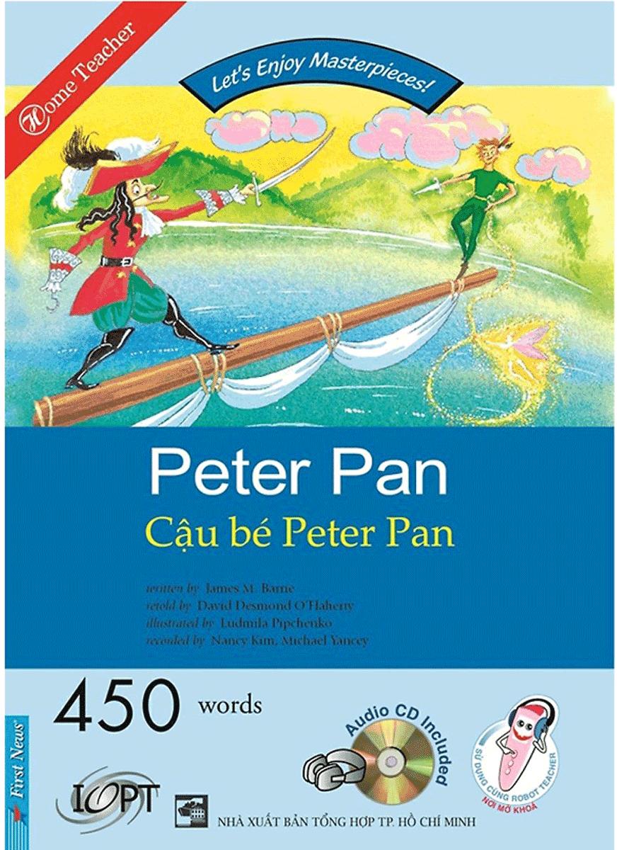Happy Reader - Cậu Bé Peter Pan (Kèm 1 CD)