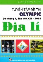 Tuyển Tập Đề Thi Olympic 30 Tháng 4 Lần Thứ XXI-2015 Địa Lí