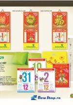 Bloc Lịch Xuân 2015 Sắc Hoa (14.5 x 20cm) + Bộ Lò Xo 5