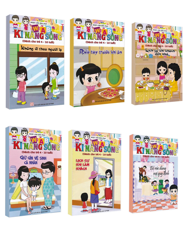 Combo Sách Kĩ Năng Sống (Dành Cho Trẻ 4-10 Tuổi)