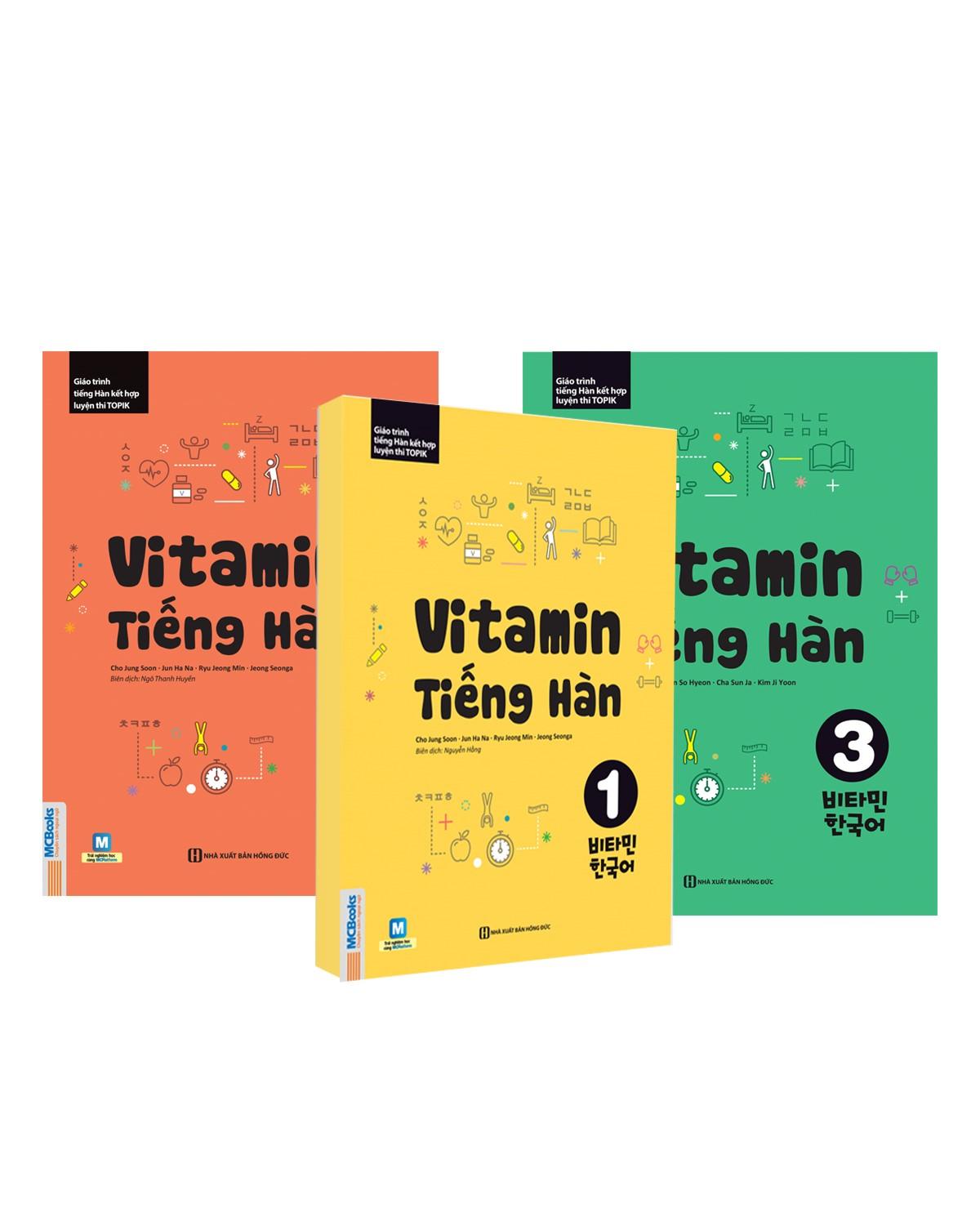 Combo Vitamin Tiếng Hàn (3 cuốn)