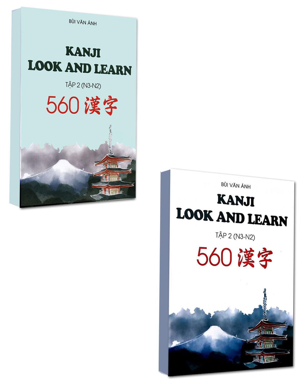 Combo Kanji Look And Learn  Tập 2 (N3 - N2)