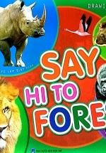 Tập Vẽ Và Tô Màu - Say Hi To Forest