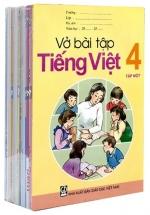 Bộ Sách Giáo Khoa Lớp 4 - Sách Bài Tập (Bộ 11 Cuốn)