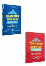 Combo Chinh Phục Toàn Diện Ngữ Pháp Tiếng Anh Bằng Infographic ( Tập 1+Tập 2 )