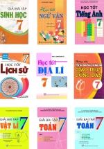 Combo Sách Giải Lớp 7 (12 Cuốn)