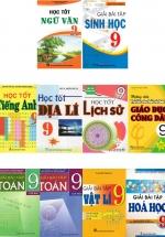 Combo Sách Giải Lớp 9 (14 Cuốn)