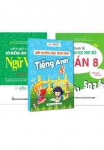 Combo Bồi Dưỡng Học Sinh Giỏi Toán - Văn - Anh Lớp 8