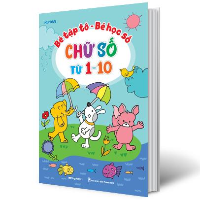 Bé Tập Tô - Bé Học Số - Chữ Số Từ 1 Đến 10
