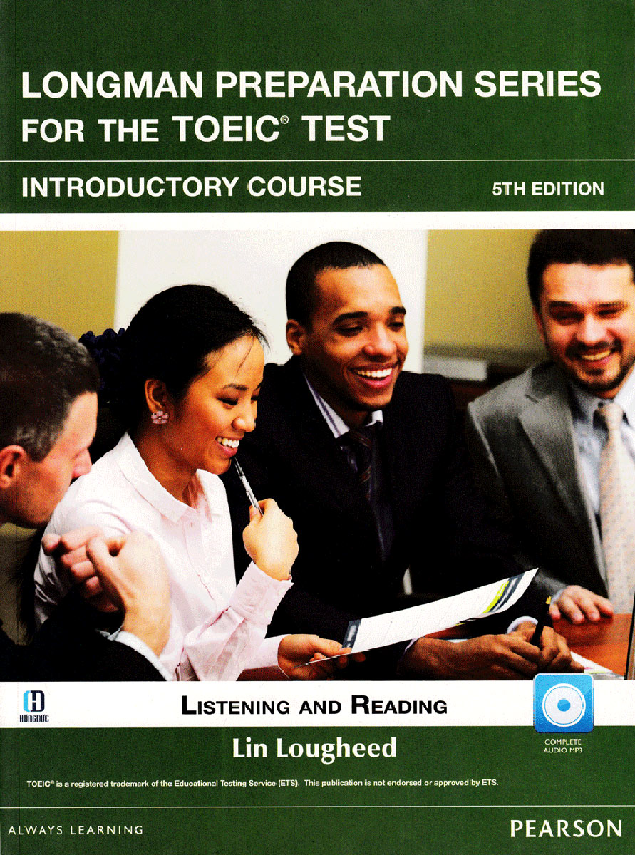 Longman Preparation TOEIC (5 Ed.) VN Intro: Student Book With I-Test