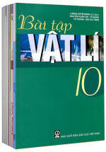 Bộ Sách Giáo Khoa Lớp 10 - Sách Bài Tập (Bộ 12 Cuốn)