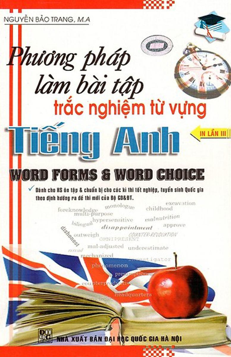 Phương Pháp Làm Bài Tập Trắc Nghiệm Từ Vựng Tiếng Anh