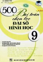 500 Bài Toán Chọn Lọc Đại Số Hình Học 9