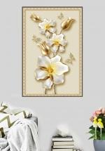 Tranh Treo Tường Hoa Ngọc Trắng (40x60 cm)