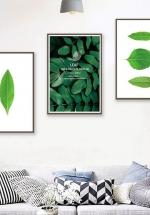 Tranh Treo Tường Fresh Air (3 tấm 37x25x3 cm)