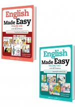 Combo English Made Easy - Volume 1+2