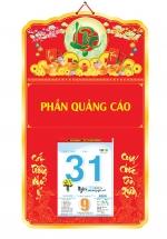 Bìa Treo Lịch Chữ Lộc (35x60cm) Gắn Bloc Lịch 2020 - NS214