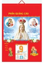 Bìa Treo Lịch Công Giáo (40x60cm) Gắn Bloc Lịch - NS202