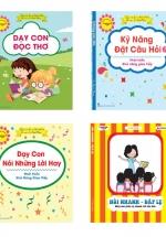 Combo Dạy Con Đọc Thơ - Dạy Con Nói Lời Hay - Kỹ Năng Đặt Câu Hỏi - Hỏi Nhanh Đáp Lẹ (4 Cuốn)