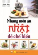 Những Món Ăn Nhật Dể Chế Biến
