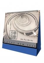 Lịch Để Bàn Chữ A 2020 (17x19 cm) - Kiến Trúc Hiện Đại - NS36
