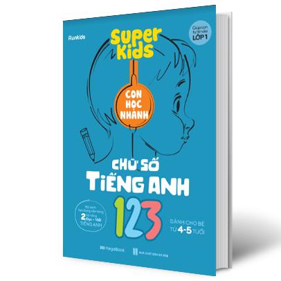 Super Kids 123 Con Học Nhanh Chữ Số Tiếng Anh
