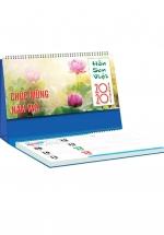 Lịch Để Bàn Chữ A 2020 (25x12 Cm) Có Note - Hồ Sen Việt - NS18