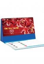Lịch Để Bàn Chữ A 2020 (25x12 Cm) Có Note - Sắc Lan - NS22