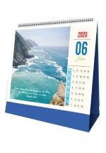 Lịch Để Bàn Chữ A 2020 (17X19 Cm) - 4 Mùa Nắng Đẹp - NS28