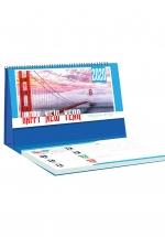 Lịch Để Bàn Chữ A 2020 (25x12 Cm) Có Note - Những Cây Cầu Thơ Mộng - NS21