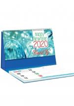 Lịch Để Bàn Chữ A 2020 (25x12 Cm) Có Note - Lung Linh Sương Mai - NS20