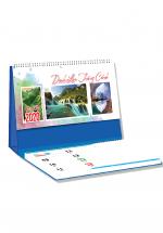 Lịch Để Bàn Chữ A 2020 (25x12 Cm) Có Note - Danh Lam Thắng Cảnh - NS27