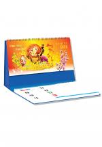 Lịch Để Bàn Chữ A 2020 (25x12 Cm) Có Note - Phong Thủy Tài Lộc - NS24