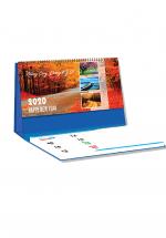 Lịch Để Bàn Chữ A 2020 (25x12 Cm) Có Note - Những Cung Đường Kỳ Vĩ - NS23