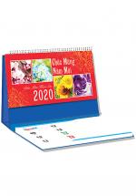 Lịch Để Bàn Chữ A 2020 (25x12 Cm) Có Note - 4 Mùa Khoe Sắc - NS19