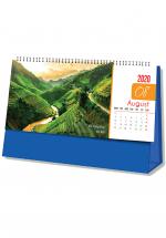 Lịch Để Bàn Chữ A 2020 (25x12 Cm) Không Note - Danh Lam Thắng Cảnh - NS27