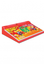 Lịch Để Bàn 2020 52 Tuần Đế Nhựa (13x25 cm) - Bon Sai Và Bình Gốm - NS16