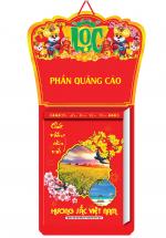 Lịch Bloc Siêu Đại 2020 (25x35 Cm) - Hương Sắc Việt Nam - NS04