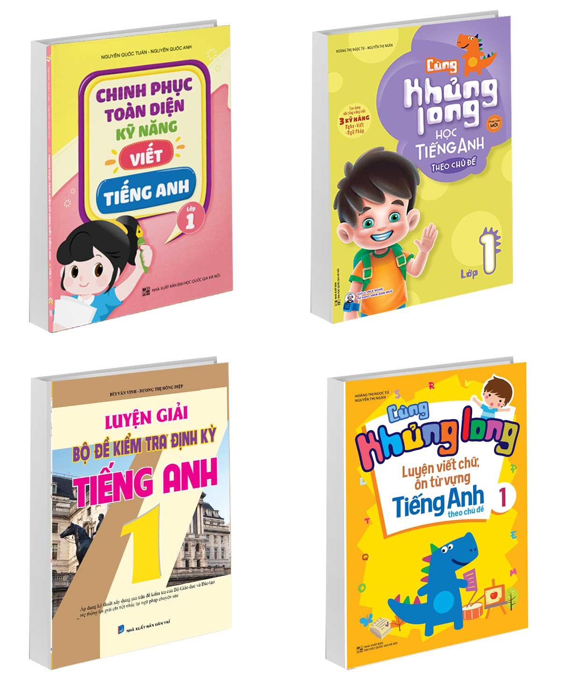 Combo Sách Tham Khảo Bổ Trợ Kiến Thức Tiếng Anh Lớp 1