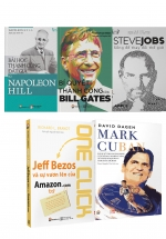 5 Cuốn Sách Và Hàng Ngàn Bài Học Quý Giá Từ 5 Nhân Vật Nổi Tiếng Nhất Thế Giới