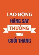 Tranh Treo Tường Lao Động Hăng Say Thưởng Ngay Cuối Tháng