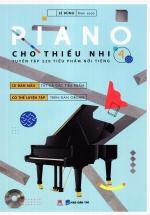 Piano Cho Thiếu Nhi - Tuyển Tập 220 Tiểu Phẩm Nổi Tiếng - Phần 4 (Kèm CD-ROM)