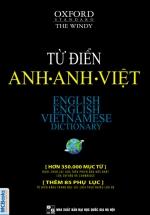 Từ Điển Anh – Anh- Việt (Bìa Mềm)
