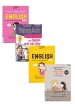 Combo Tự Học Tiếng Anh cấp Tốc Cho Người Mới Bắt Đầu+Nghe Nói Tiếng Anh Chuẩn+ Dễ Nhanh (4 Cuốn)
